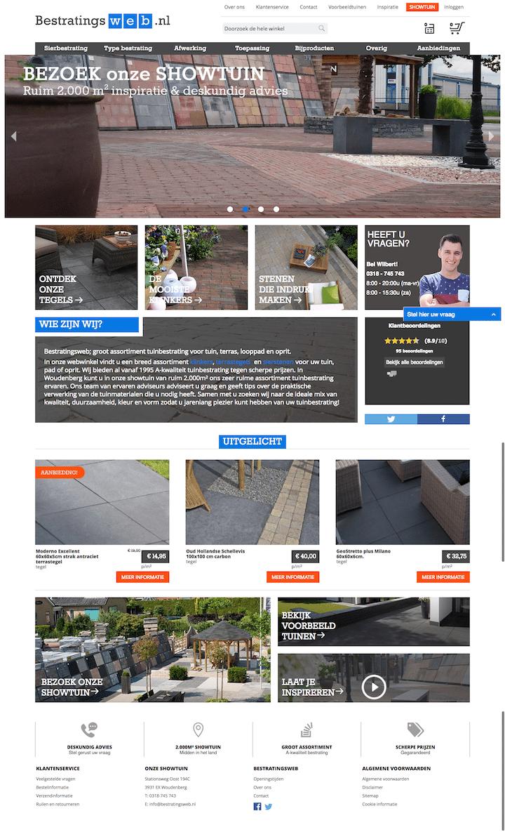 Homepage Bestratingsweb