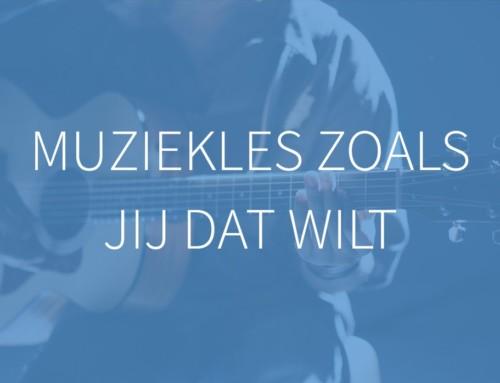 De nieuwe website van Muziekschool Barneveld is live
