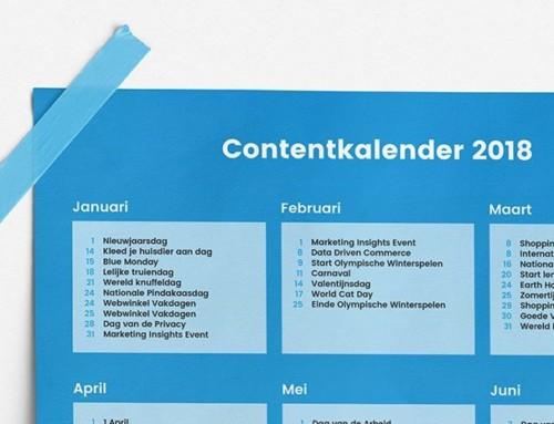 Contentkalender 2018