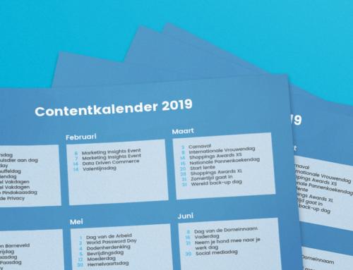 Contentkalender 2019